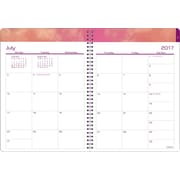 """2017-2018 Staples®8""""x11""""Large Academic Weekly/Monthly Planner, 14 Months(27106-17)"""