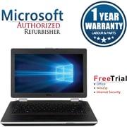 Refurbished Dell Latitude E6420 14in Notebook Intel Core i5 2.5Ghz 8GB RAM 250GB SSD Windows 10 Pro