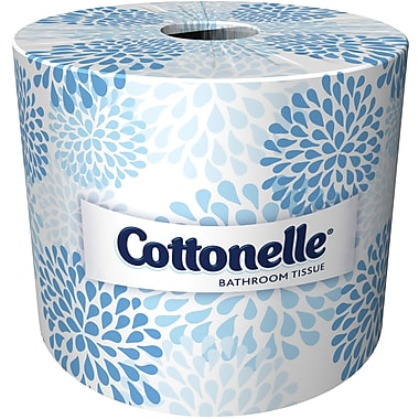 Kleenex Cottonelle 2-Ply Bulk Toilet Paper White, 20 Rolls/Case, 451 Sheets /Roll (13135)