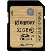Kingston® SDA10/32GB Ultimate Class 10 UHS-I 32GB SDHC Flash Memory Card