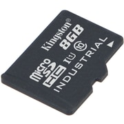 Kingston® SDCIT/8GBSP Industrial Temperature Class 10 UHS-I 8GB microSDHC Memory Card