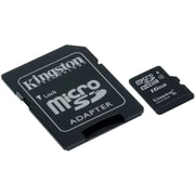 Kingston (SDC4/16GB) Class 4/UHS-I 16GB microSDHC Memory Card with Adapter
