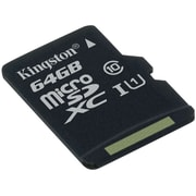 Kingston SDC10G2/64GBSP 64GB Class 10/UHS-I microSDXC Flash Memory Card