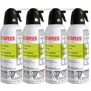 STAPLES ELECTRONICS DUSTER 10 OZ 4PK