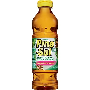 Pine-Sol® Multi-Surface Cleaner Disinfectant Deodorizer, Pine Scent, 28 oz.