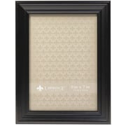 5x7 Classic Detailed Black Picture Frame