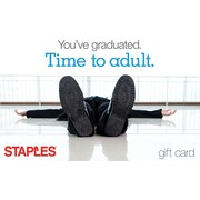 Staples Adulting Gift Card