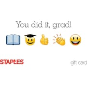 Staples Emoji Gift Card