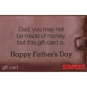 Staples Wallet Gift Card
