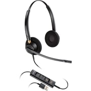 Plantronics® EncorePro 500 HW525 USB Corded Headset, Black