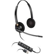 Plantronics® EncorePro 500 HW525 USB Corded Headset, Black