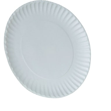 Dixie 9in. White Paper Plates, 1,000/Case (WNP910100)