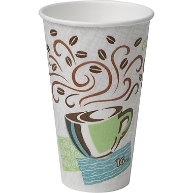 Dixie PerfecTouch 16oz Hot Cups, 50/Pack (5356CD)