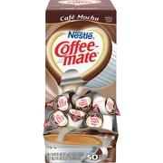 Nestlé® Coffee-mate® Coffee Creamer, Café Mocha, .375oz liquid creamer singles, 50 count