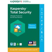 Kaspersky Total Security 5 Dev 1 Year PC Bundle for Windows/Mac (1-5 Users) [Download]
