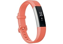 Fitbit Alta HR Activity Tracker, Large, Coral