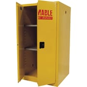 "Sandusky® 65""H x 34""W x 34""D Steel Flammable Safety Cabinet, Yellow"