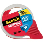 """Scotch® High-Performance Sure-Start Packing Tape, Clear, 1.88"""" x 38.2 yds, Each"""