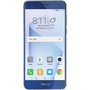 HUAWEI Honor 8 32GB Unlocked GSM 4G LTE Quad-Core Android Phone w/ 12MP Dual Lens Camera - Sapphire Blue