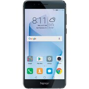 HUAWEI Honor 8 32GB Unlocked GSM 4G LTE Quad-Core Android Phone w/ 12MP Dual Lens Camera - Midnight Black
