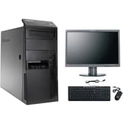 "Refurbished Lenovo Thinkcentre M90 All in One Tower with a 22"" Refurbished LCD Monitor, Intel i5, 1TB HDD, 6GB DDR3 RAM"