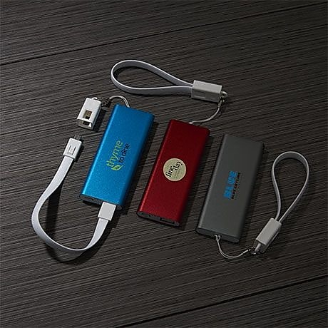 Custom Portable Chargers Small Quantity