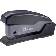 Staples® One-Touch® Half Strip Compact Stapler, Fastening Capacity 20 Sheets, Black