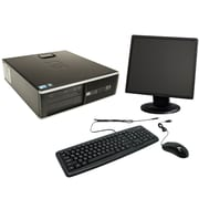 Refurbished HP Elite 8000 SFF Desktop BUNDLED with 19in LCD Monitor Intel Core 2 Duo 3.0Ghz 4GB RAM 250GB HDD Windows 10 Home