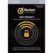 Norton WiFi Privacy VPN- 10 Device for Windows/Mac (1 User) [Download]