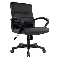 Staples Tervina Luxura Mid-Back Manager Chair Deals