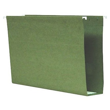 Smead® 100% Recycled Box-Bottom Hanging File Folders, Legal, 2in. Capacity, 25/Box