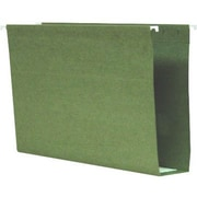 Smead® 100% Recycled Box-Bottom Hanging File Folders, Legal, 2 Capacity, 25/Box