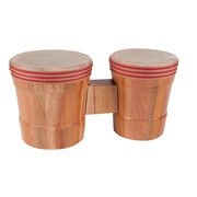 Westco Pretuned Bongo Drums, Natural, Set