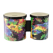 Remo Kids Percussion Bongo, Rainforest, Set of 2