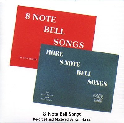 Rhythm Band 8 Note Bell Songs CD, 29 Songs 20002289