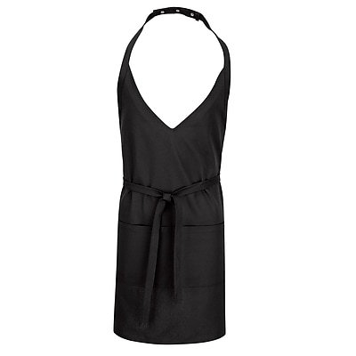 Chef Designs 3 Pocket Tuxedo Apron Black