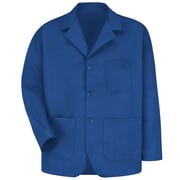 Red Kap® Long-Sleeve Lapel Counter Coat, Royal Blue, Small
