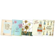 Robin Rawling Birthday Greeting Card Assortment