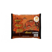 REESE'S Lovers' Halloween Snack Size Assortment, 30-Piece, 16.7 oz