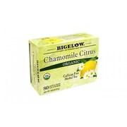 Bigelow Chamomile Citrus Organic Tea Bags, 80 Count