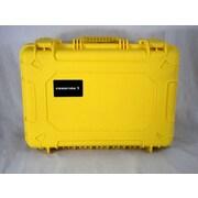 Condition 1 Airtight/Watertight Yellow Hard Plastic Protective Case (100801)