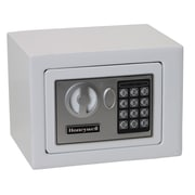 Honeywell 0.19 cu.ft. Digital Lock Security Safe (5005), White