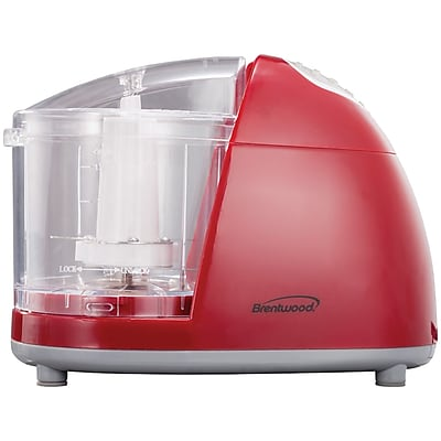 Brentwood Mini Red Food Chopper MC-105
