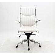 Manhattan Comfort MC-647  Ergonomic High Back Verdi Office Chair in White