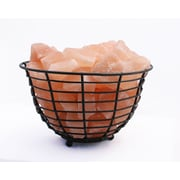 Accentuations by Manhattan Comfort Candelabra Base 15-Watt Bulb  Himalayan Salt Lamp  (AMC95030B)