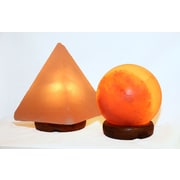 Accentuations by Manhattan Comfort Candelabra Base 15-Watt Bulb  Himalayan Salt Lamp  (AMC950034-5)