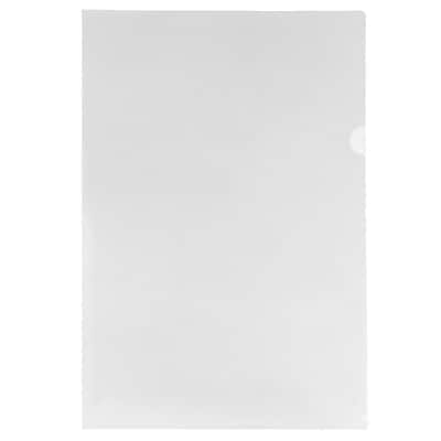 """""JAM Paper Plastic Sleeves, 13 1/2"""""""" x 19 1/2"""""""", Clear, 12/Pack"""""" 2477956"