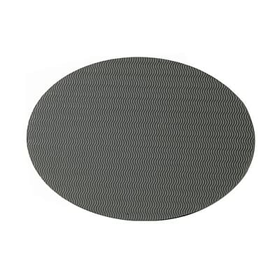 JAM Paper Corregated Wave Paper Placemats 16 1 2 x 12 Grey 100 carton
