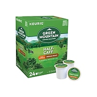 Deals on 144-Count Green Mountain Half-Caff Coffee Keurig K-Cup Pods