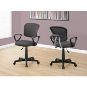 Monarch I 7262 Juvenile Office Chair Grey Mesh